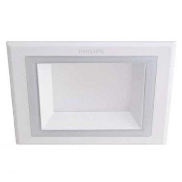 Đèn Led Philips âm trần vuông 14W Marcasite 59528