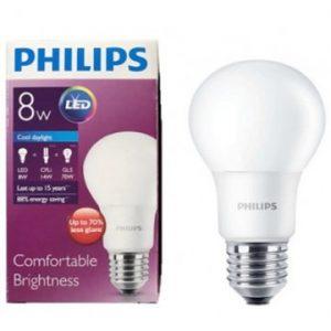 Bóng đèn Philips Led Bulb 8W 3000/6500K E27 230V A60