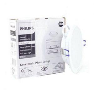 Đèn Led Philips âm trần 4W DN027B D90