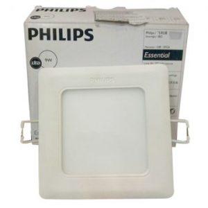 Đèn Led Philips âm trần vuông 18W Marcasite 59524