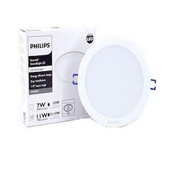 Đèn Led Philips âm trần 7W DN027B D90