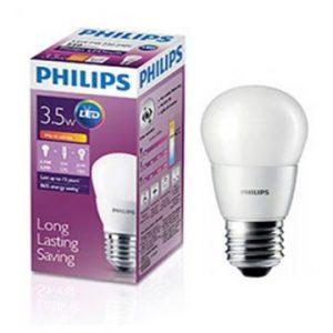 Bóng đèn Philips Led Bulb 3W 3000/6500K E27 230V P45