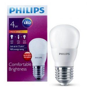 Bóng đèn Philips Led Bulb 4W 3000/6500K E27 230V P45