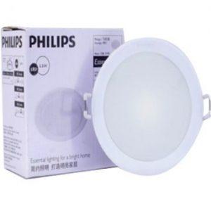 Đèn Led Philips âm trần 14W Marcasite 59523