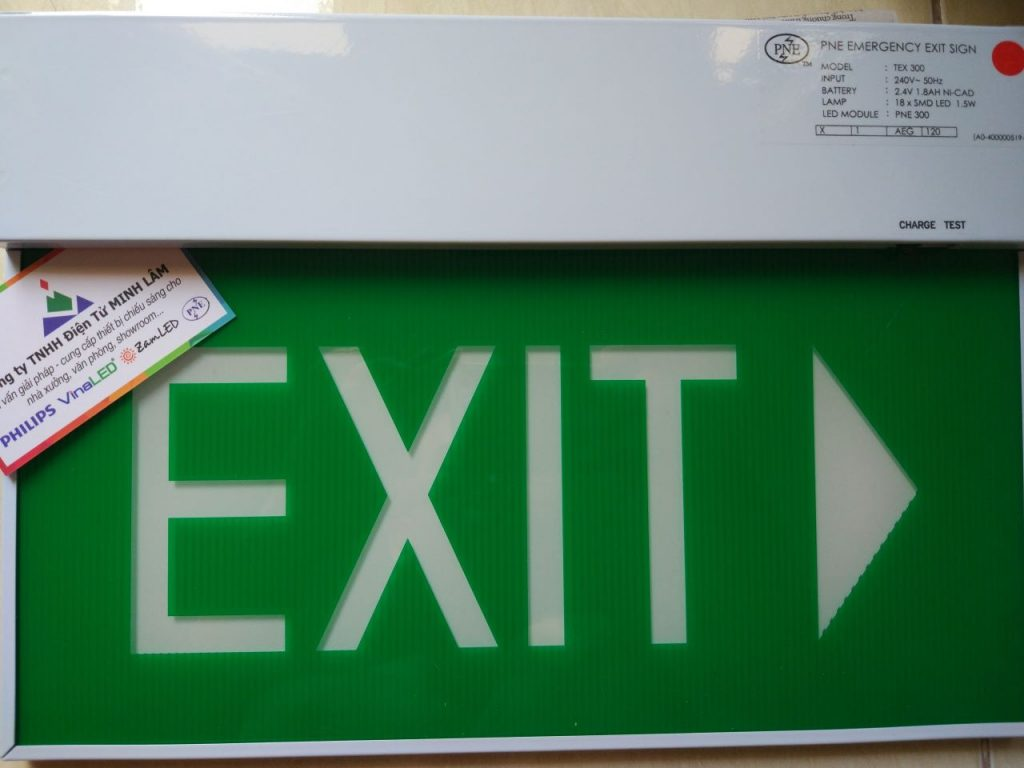 Đèn thoát hiểm PNE TEX 300