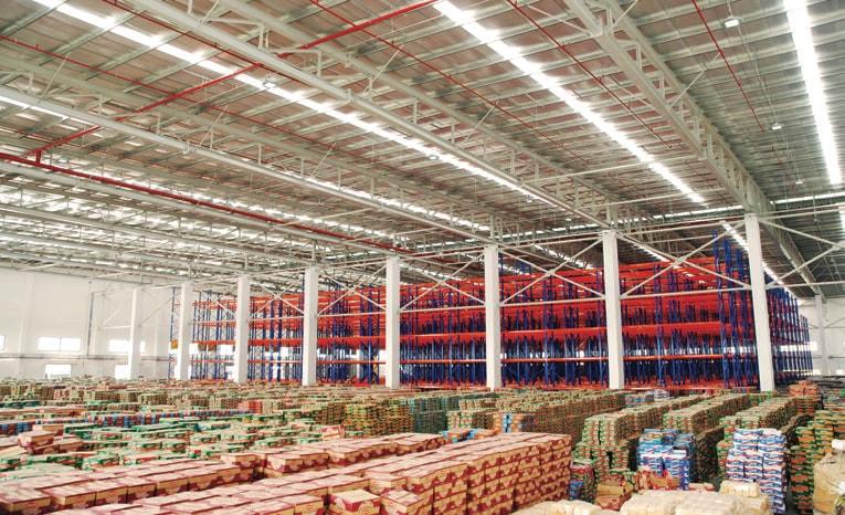 Những loại đèn LED thường dùng trong nhà kho, nhà máy sản xuất.