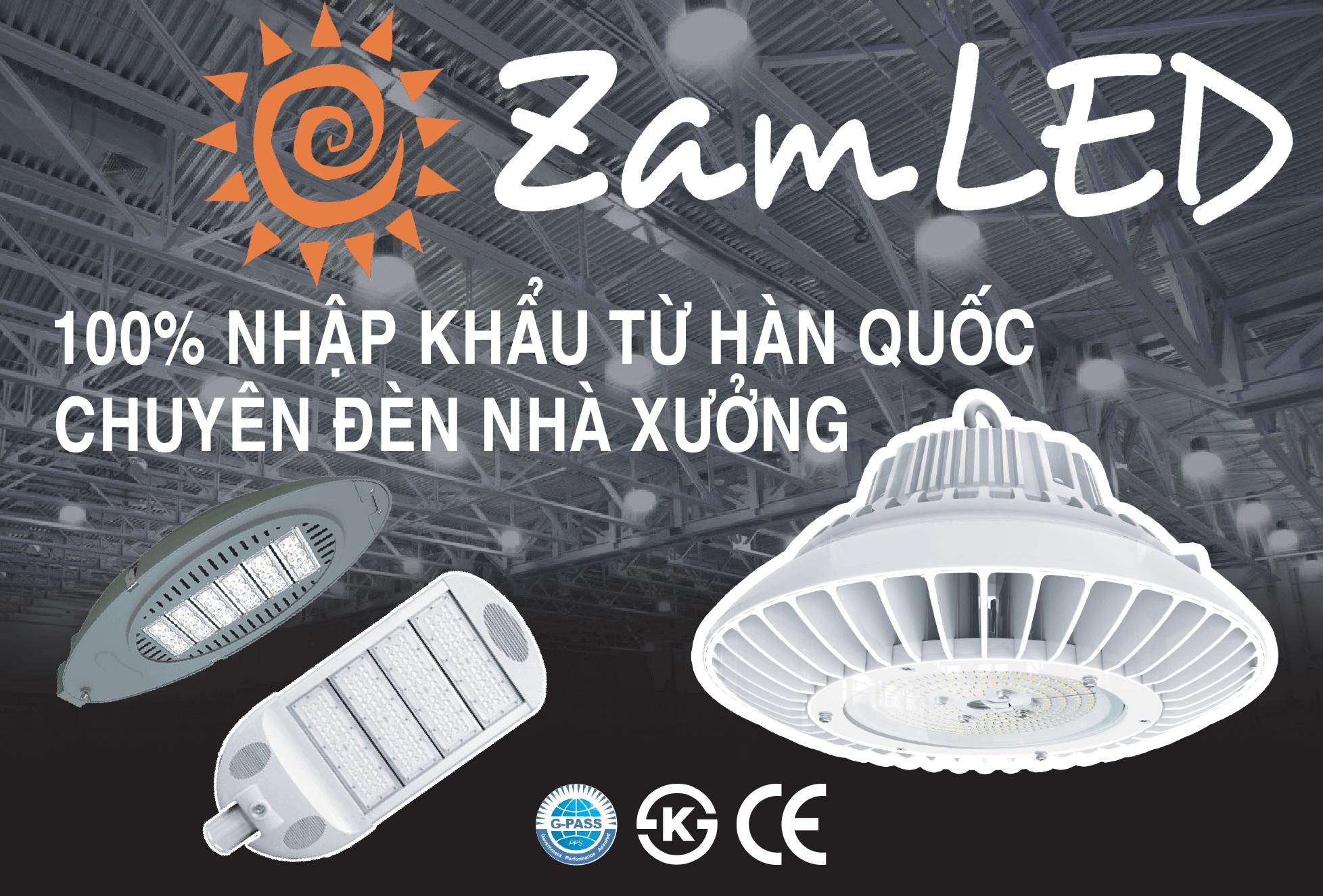 ZamLED - Thương hiệu đèn LED Hàn Quốc - Điện Tử Minh Lâm